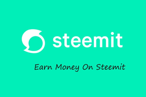 earn money from steemit