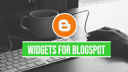 widgets for blogspot