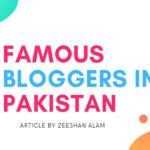top bloggers in pakistan